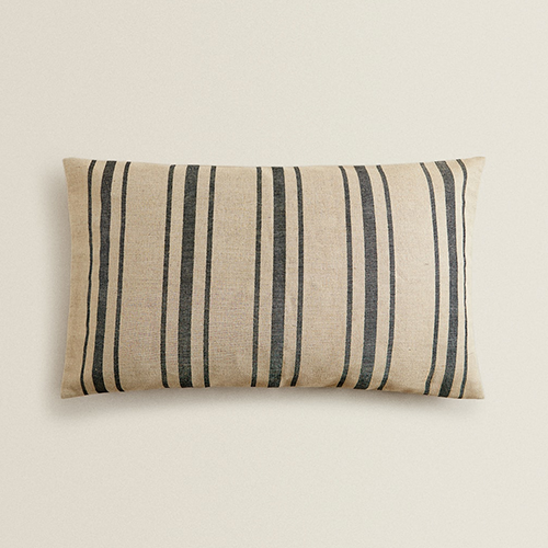 Captain and Nel Favorite Pick - Striped Cushion