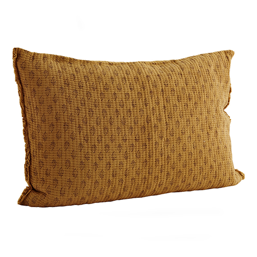 Captain and Nel favorite pick - MS mustard cushion